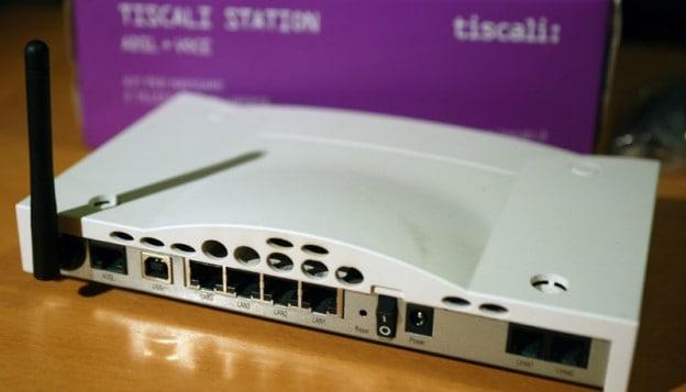192.168.1.1 - configurazione modem tiscali